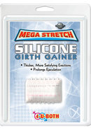 Mega Stretch Silicone Girth Gainer 2 Inch Clear