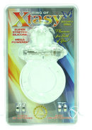 Ring Of Xtasy Butterfly Series Vibrating Silicone Cock Ring...