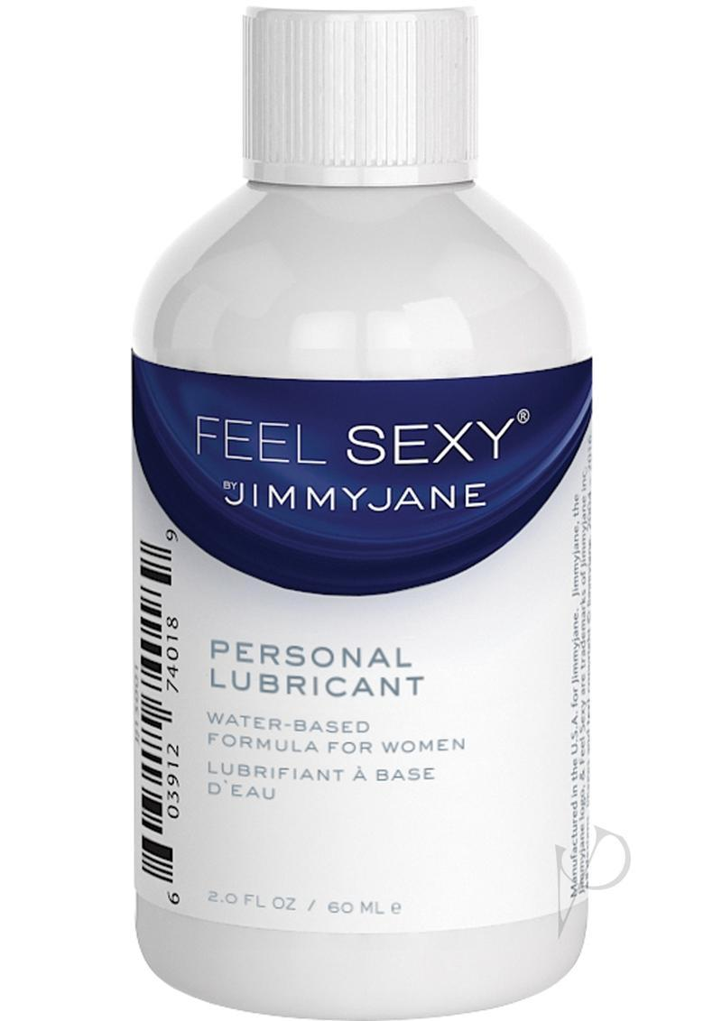 Jimmyjane Feel Sexy Personal Water Based Lubricant 2 Ounce