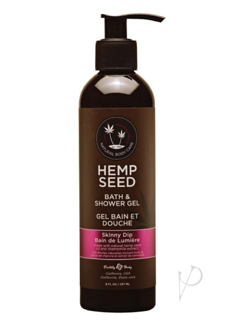 Hemp Seed Bath And Shower Gel Skinny Dip 8 Ounce