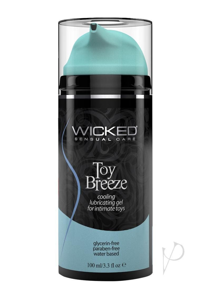 Wicked Toy Breeze Cooling Water Based Gel Lubricant 3.3oz