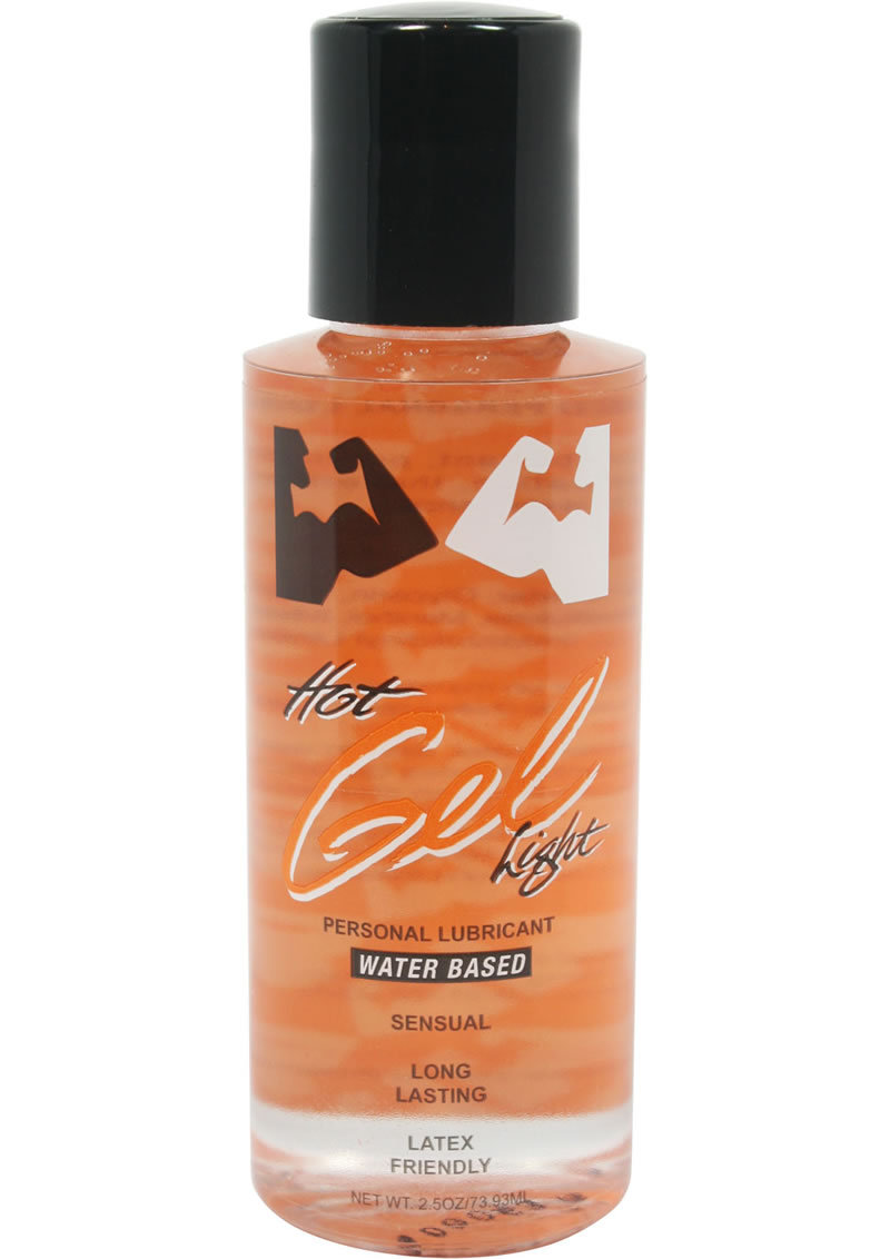 Elbow Grease Hot And Light Gel Water Based Lubricant 2.5 Ounce